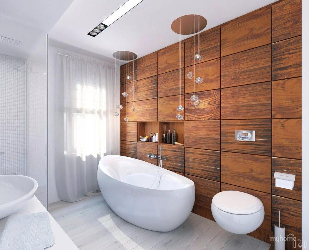 Современные совмещенные ванные дизайн 2017