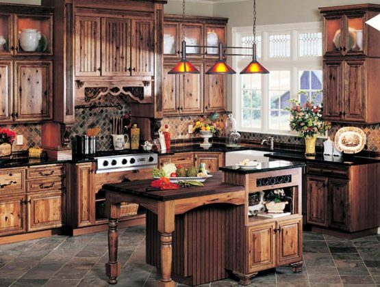 Best-Rustic-Kitchen-Cabinets-Home-Inspirations-With-Diy-Pictures-How-To-Make