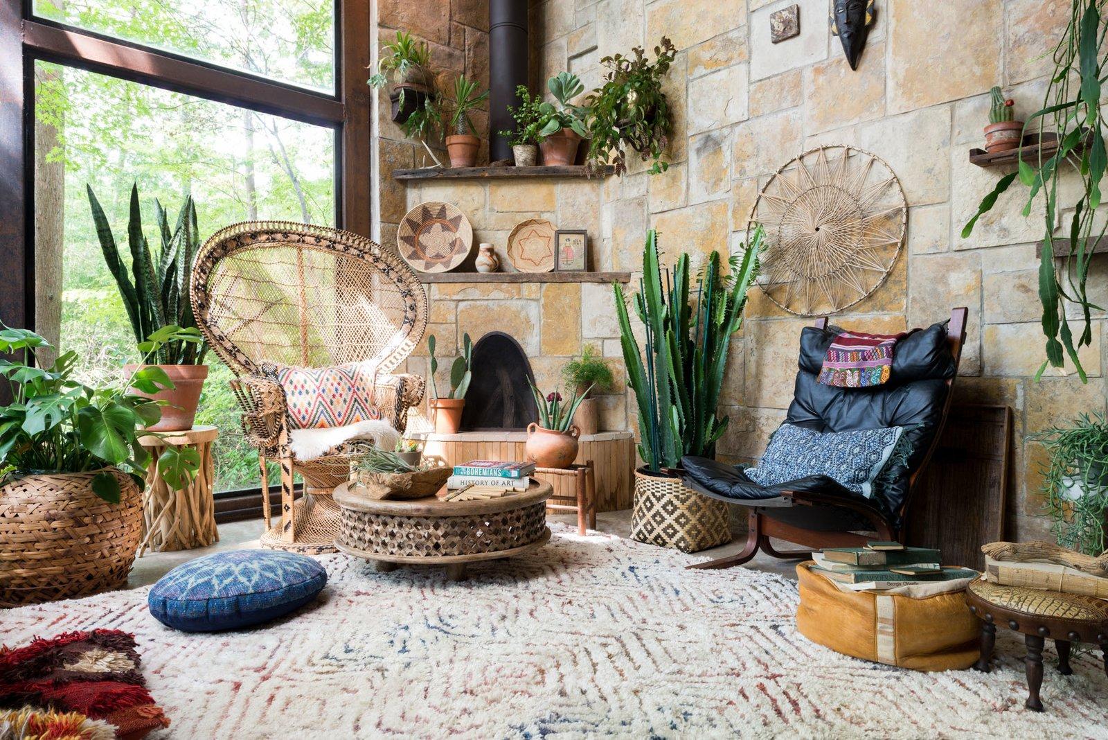 Meditation Room Decorating Bohemian style