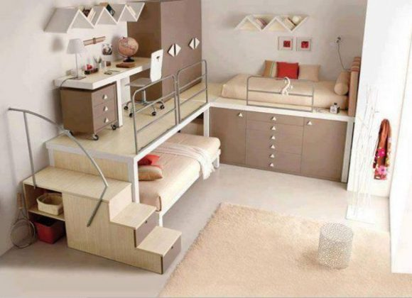 Bunk Bed with Desk Children's furniture Collection