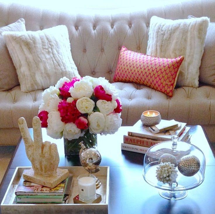 Briliant coffee table decor - four corner coffee table accessories