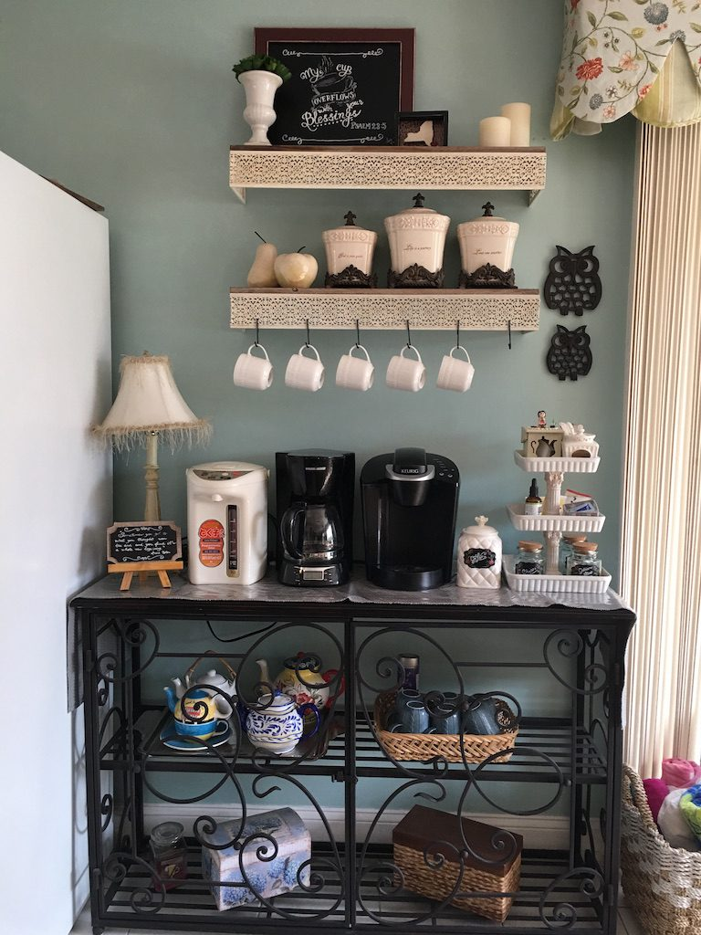 Coffee cart & coffee bar ideas