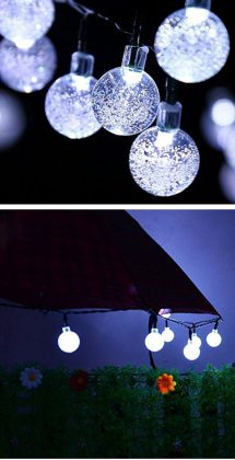 Crystal-Ball-Solar-Waterproof-String-Lights