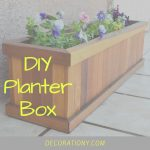 DIY Planter Box | Build Pallet Planter Boxes