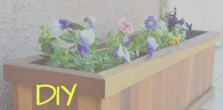 DIY Planter box instructions