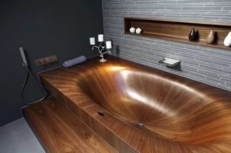 Modern Bathroom Design - Elegant Bathtub