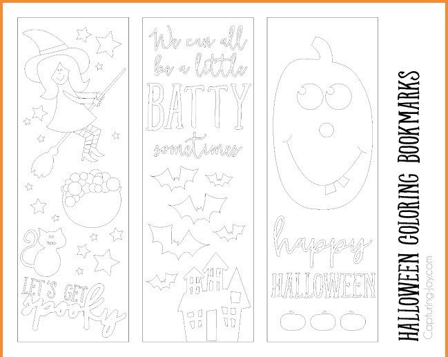 Halloween coloring printable halloween decorations