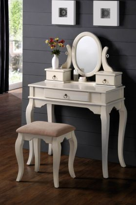 Lovely-Sky-Vanity-Table-Jewelry-Makeup-Desk-Bench-Drawer-White-Solid-Wood-and-Small-Chair-915x1376