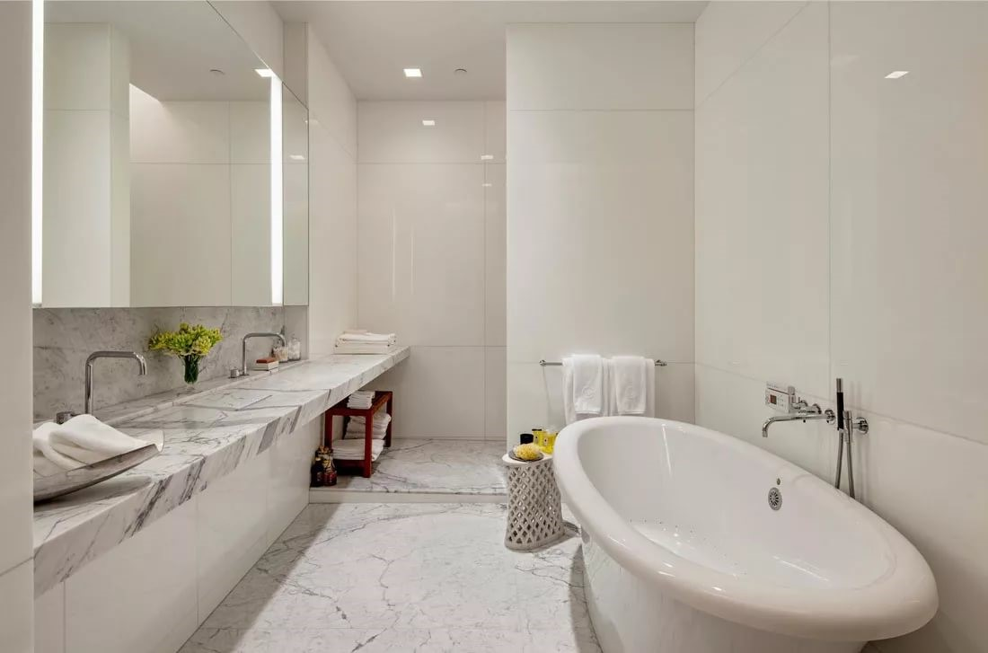 Modern Bathroom Design - marble designs 2017
