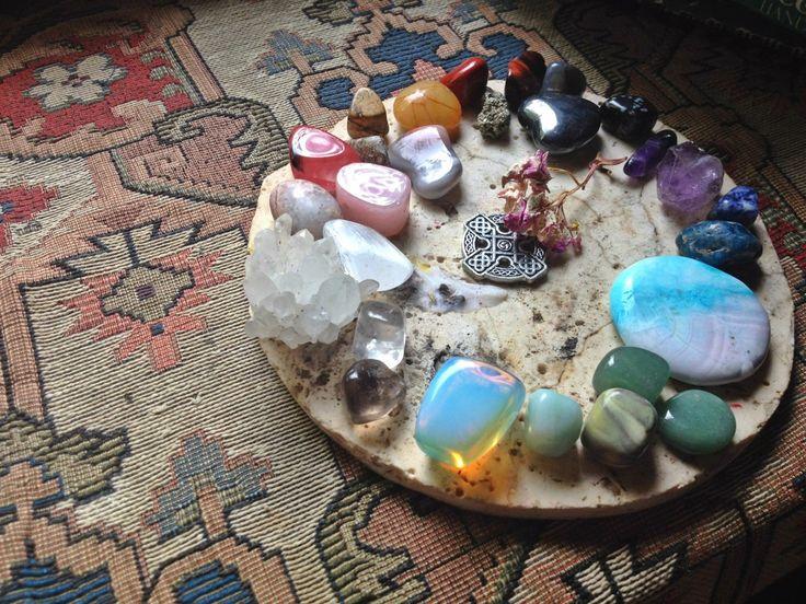 Meditation Room Decorating - Meditation Crystals