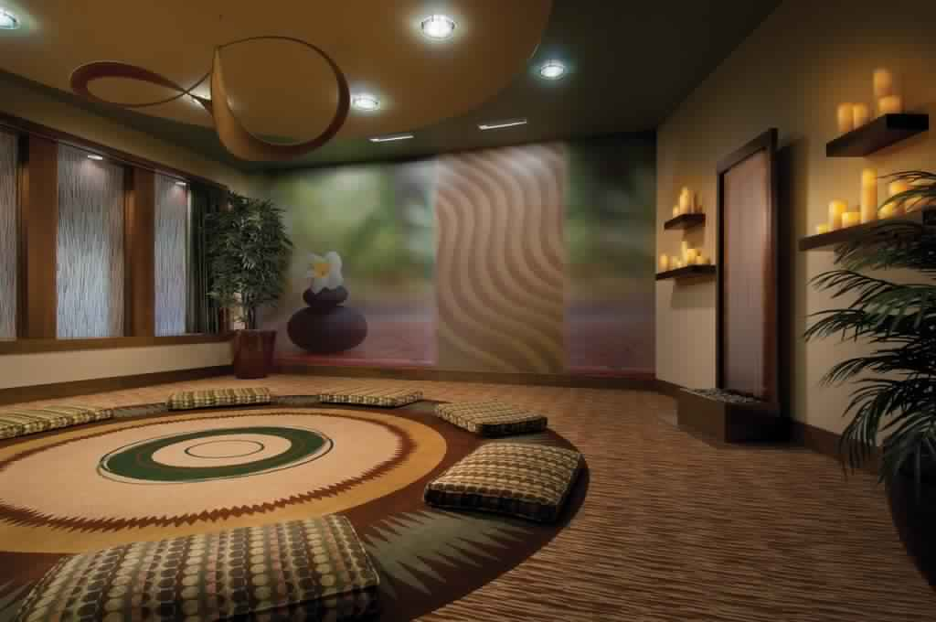 Meditation Room Decorating suitable for yoga