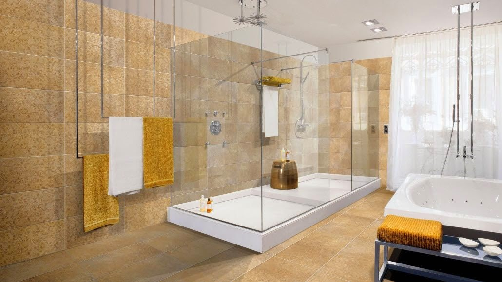 Modern Bathroom Design Tiles 2017