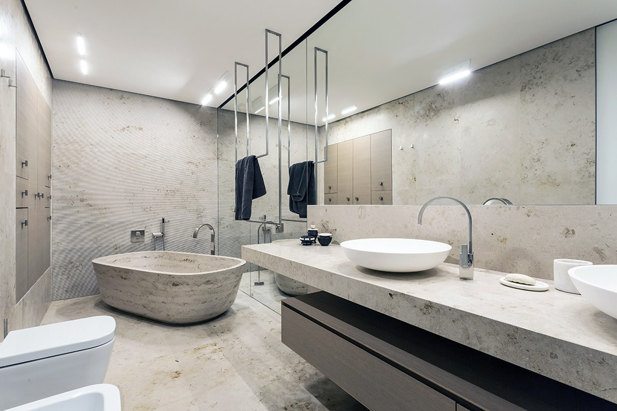 Modern Bathroom Design - Classic bathrooms marble designs 2017