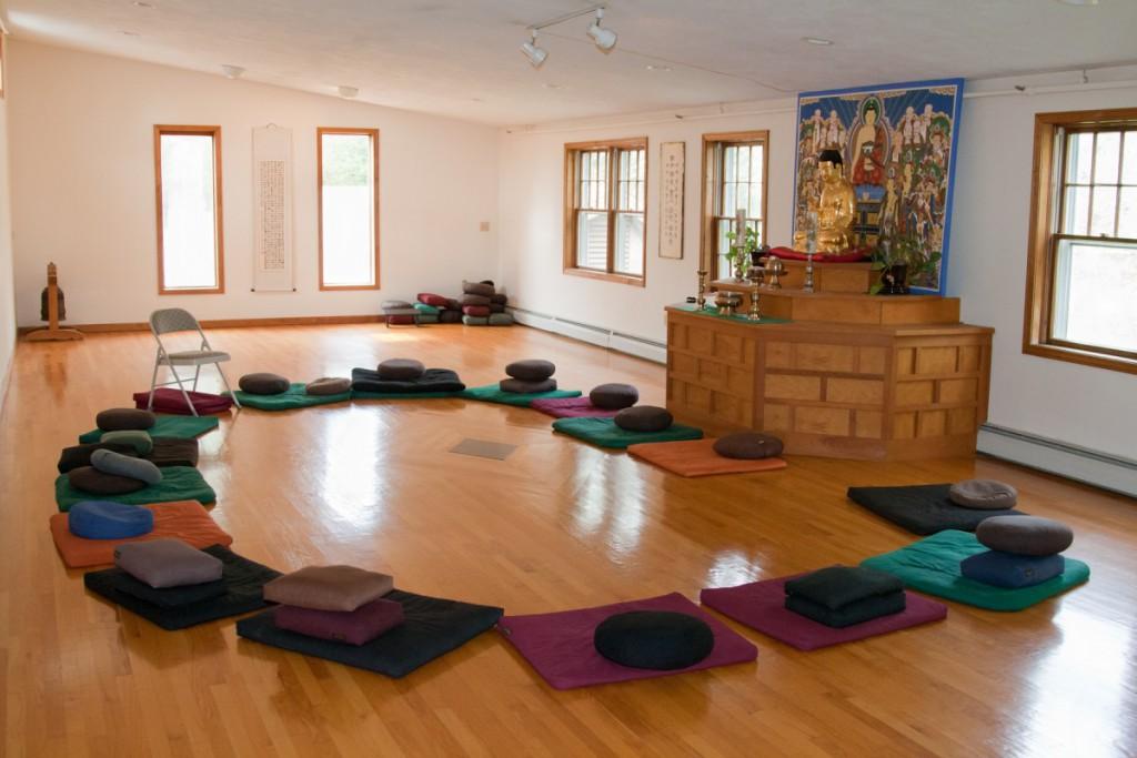 Meditation Room Decorating playful patterns