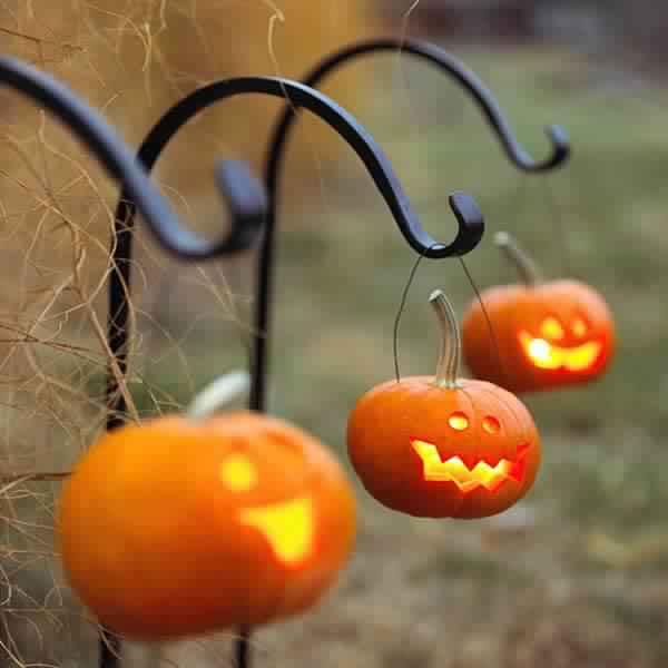 Outdoor Halloween Decorations Secure Setup