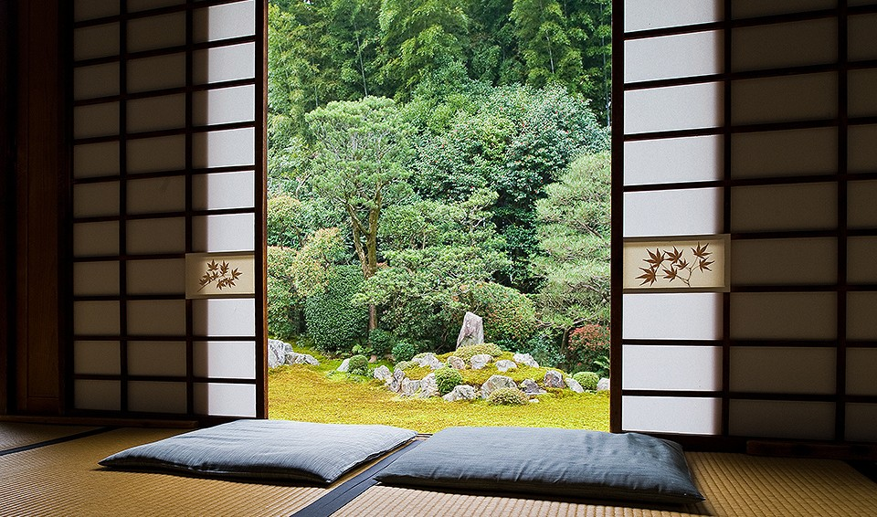 Meditation Room Decorating with space for two persons
