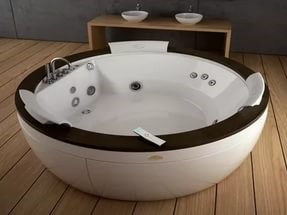 Modern Bathroom Design Standard Jacuzzi Bathtub