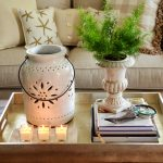 The-candles-fill-up-the-tray-without-it-looking-crowded-round-coffee-table-decor