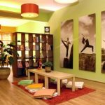 Meditation Room Decorating Yoga studio room