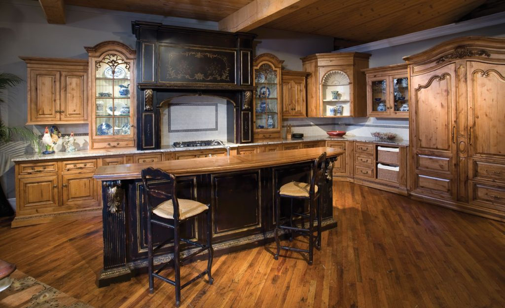 laminate rustic kitchen cabinets