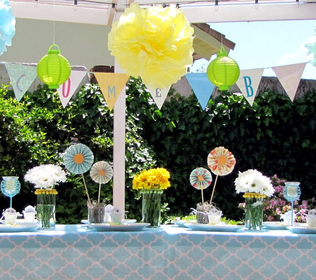 baby shower decoration ideas boy