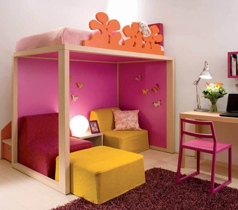 Bunk Bed with Desk Boys Decorating Profile Amy Berry New Ideas Kids Bedroom Girls intended for Small Kids Bedroom Ideas