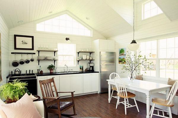 kitchen corner dining table