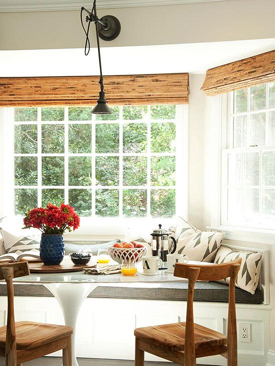 corner dining table ideas