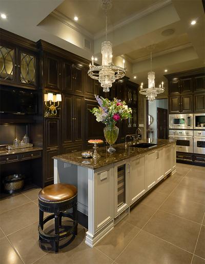 dark kitchen cabinets ideas