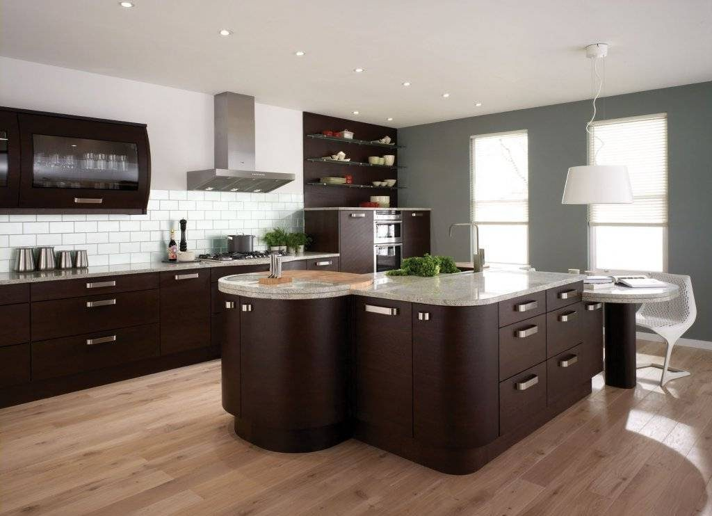 nice dark kitchen cabinets