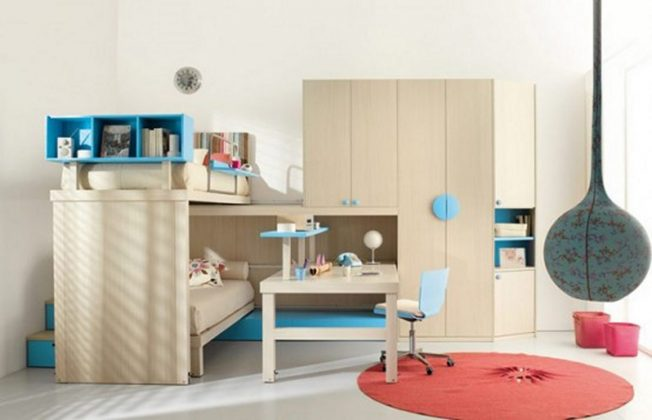 Bunk Bed with Desk furniture Collection for kid