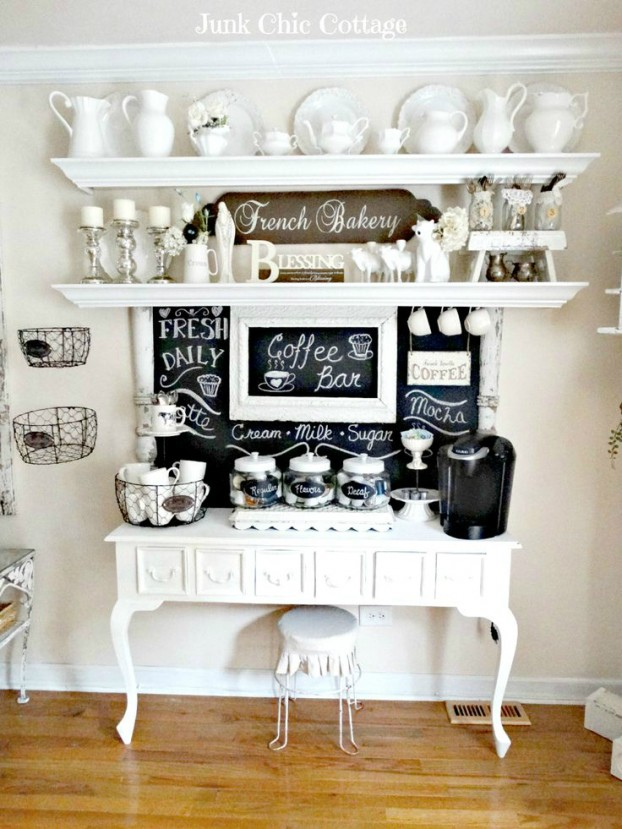 Home coffee bar ideas - coffee table styles