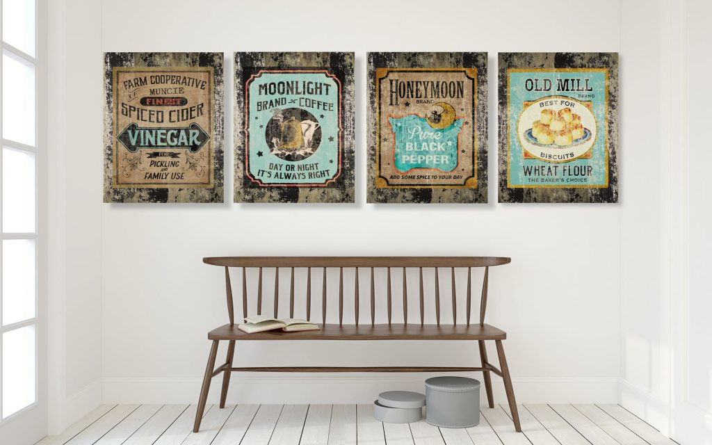 Rustic wall art decor hangings