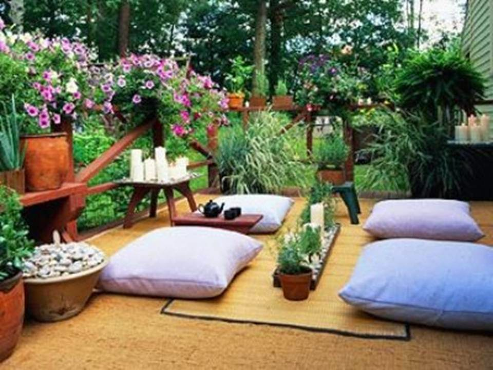 Meditation Room Decorating individual greenery
