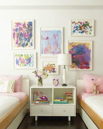 Kids art gallery wall ideas creative kids