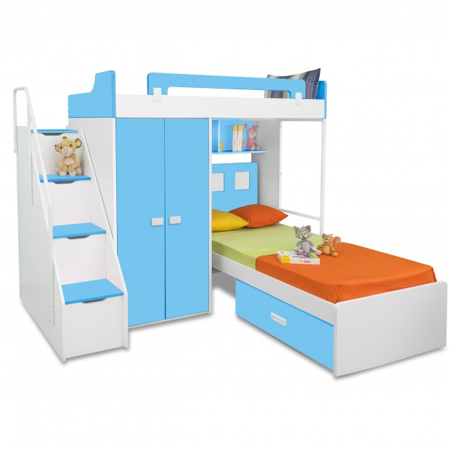 new l shaped bunk beds