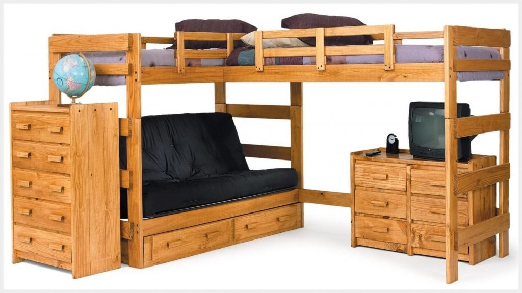 l shaped bunk beds designs