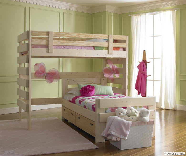l shaped bunk beds types