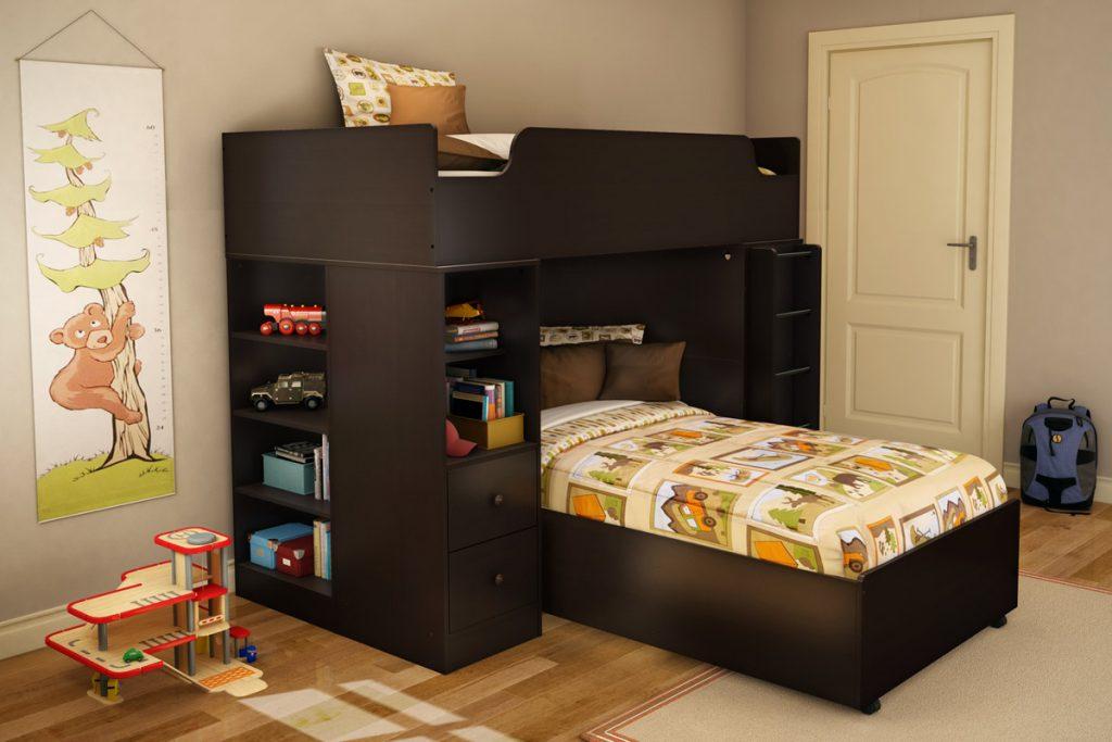 l shaped bunk beds colors
