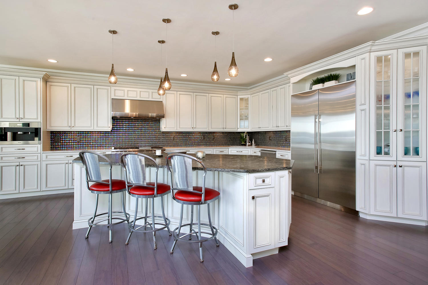 Large kitchen island designs and plans decor or design for A big kitchen