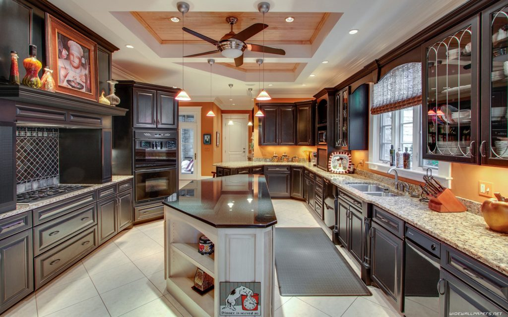 luxurious kitchens design and styles
