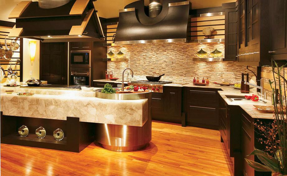 luxurious kitchens design ideas