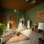 Meditation Room Decorating meditation room simple design