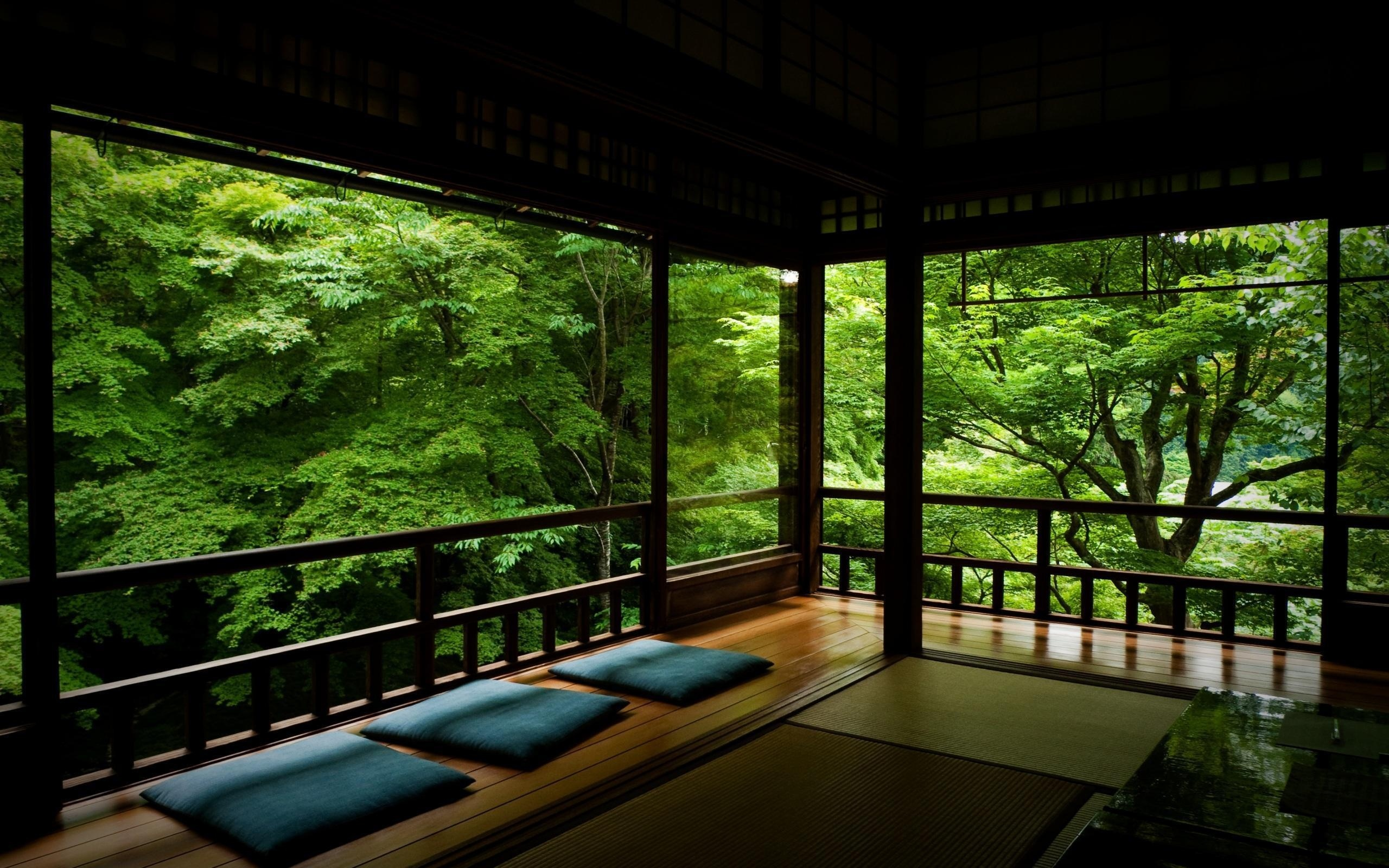 Meditation Room Decorating in open space