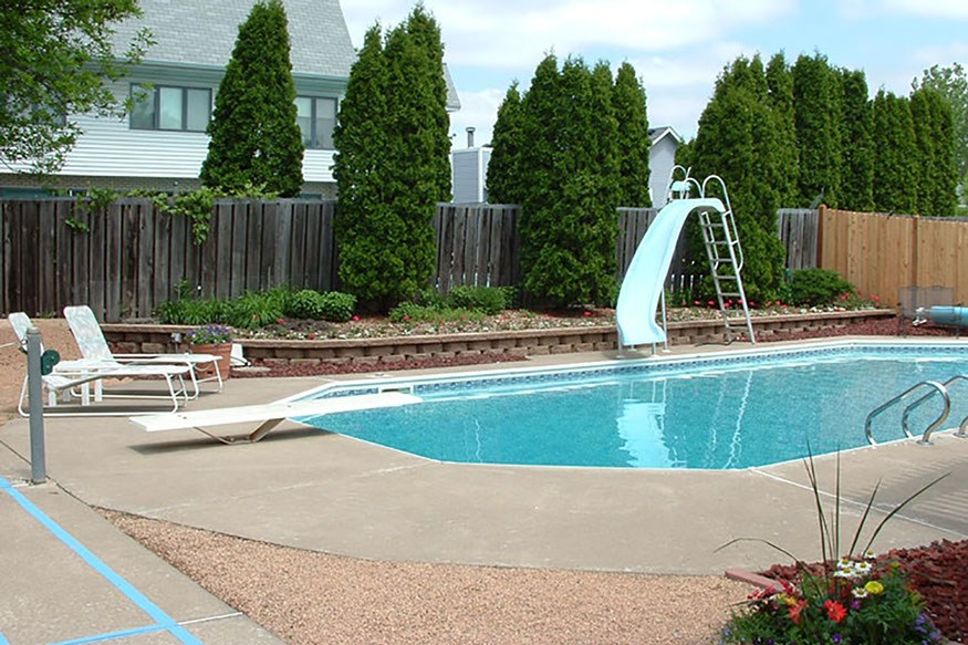 cool pool fence ideas
