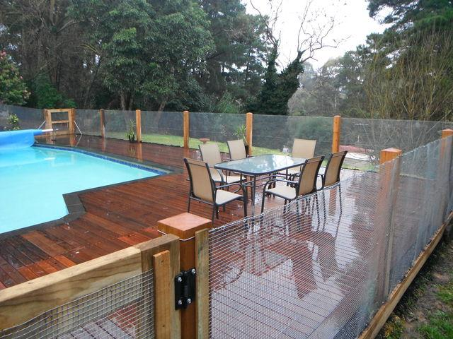 panels pool fence ideas