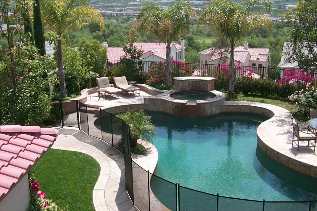 pool fence ideas cheap