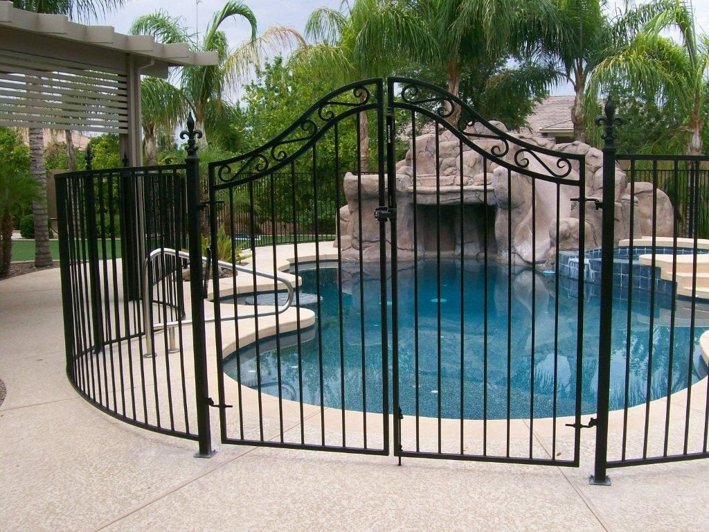 new pool fence ideas