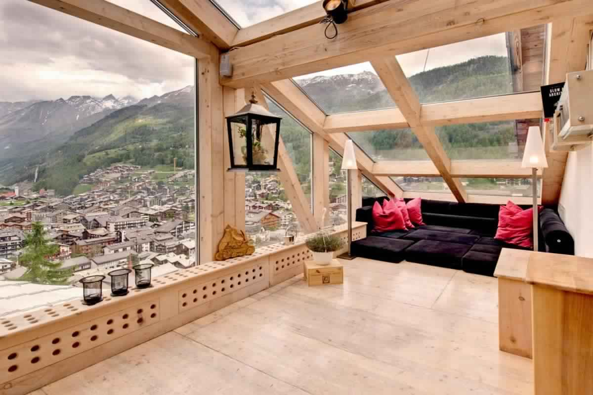 Meditation Room Decorating with gorgeous views