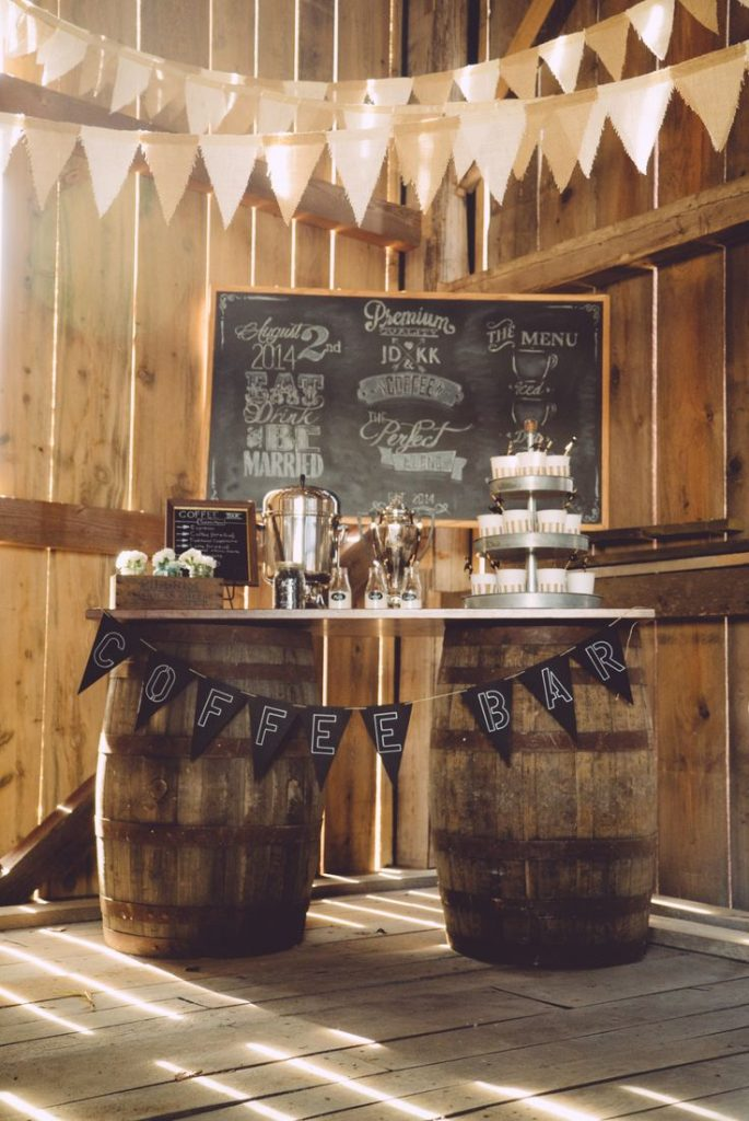 Party coffee station ideas